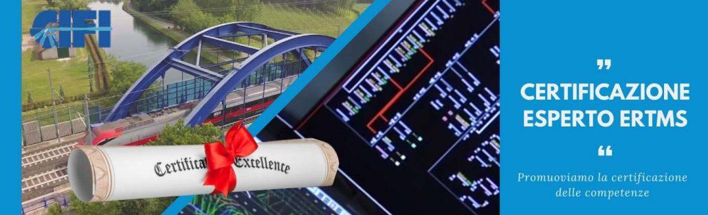 """Certificazione delle competenze professionali """"Esperto ERTMS"""""""